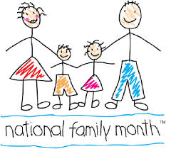National Family Month - Blog post pic