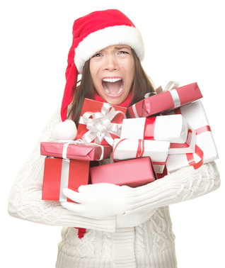 Overwhelmed by gift exchanges.