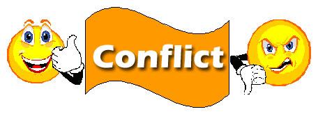 Conflict photo