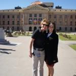 Addison Naugle and Vickie Owen