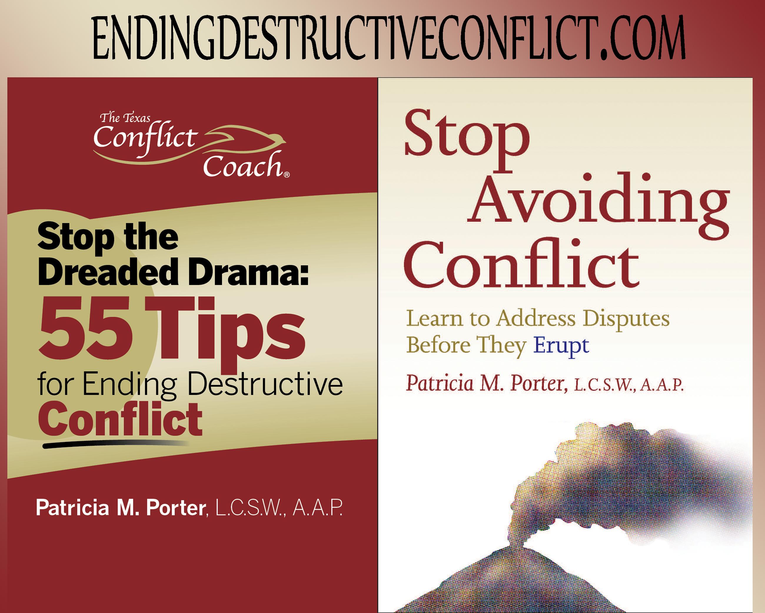 Texas Conflict Coach Books
